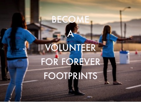 Volunteer for Forever Footprints - Orange County pregnancy and infant loss support, remembrance and education