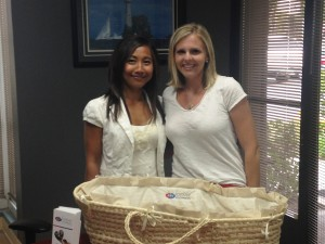 Charity Vasquez, Paloma Comfort Care, and Kristyn von Rotz, Forever Footprints Cofounder/Board of Directors