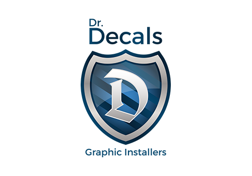 Dr. Decals Graphic Installers Logo