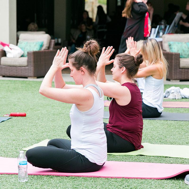 Yoga at OC Nurture to Remember