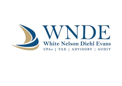 White Nelson Diehl Evans Logo